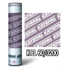 Кровельный материал Катепал К-EL 60/3200 подкладочный ковер (основа стеклохолст)