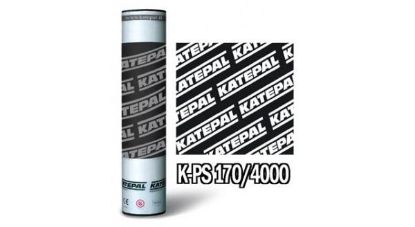 Кровельный материал Катепал К-PS 170/4000 верхний слой с гранулами, цвет серый в Запорожье по честной цене !