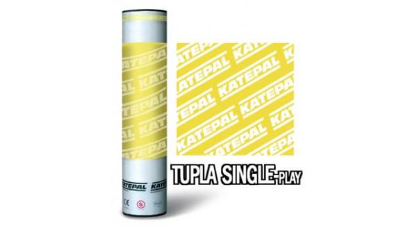 Кровельный материал Катепал - Tupla single-ply, Однослойное, финишное покрытие в Запорожье по честной цене !
