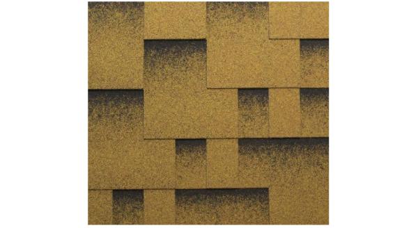 Битумная черепица Katepal - Коллекция ROCKY - Золотой песок в Запорожье по честной цене !