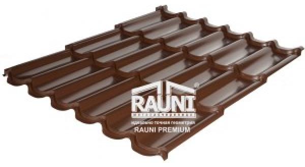 Металлочерепица Rauni Premium в Запорожье по честной цене от официального дилера