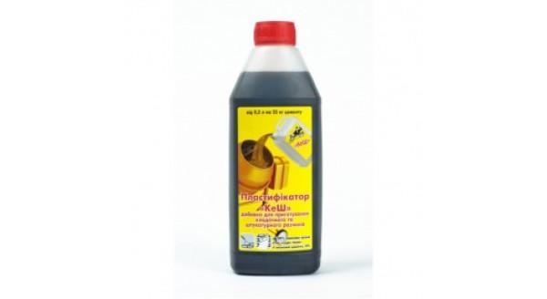 Пластификатор «КэШ» для кладочного и штукатурного растворов в Запорожье