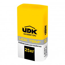 UDK - клей для газобетона 25 кг