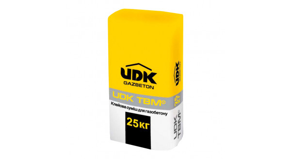 UDK - клей для газобетона 25 кг в Запорожье