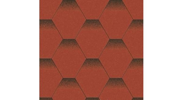 Битумная черепица Aquaizol - Коллекция Мозаика - Красный мак - по честной цене
