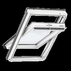 Мансардне вікно VELUX GLU 0051/0051 В   з нижньою (та верхньою) ручкою відкривання