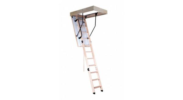 Чердачная лестница Oman - Termo c поручнем + насади ПВХ купить в Запорожье.