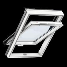 Мансардне вікно VELUX GLP 0073B ПВХ з  ручкою знизу