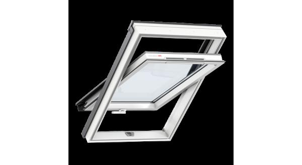 Мансардне вікно VELUX ПВХ з  ручкою знизу