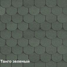 Однослойная битумная черепица Шинглас Танго зеленый
