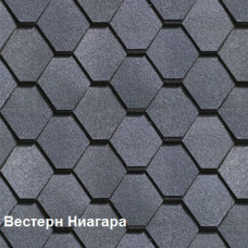 Двухслойная битумная черепица Шинглас Вестерн Ниагара