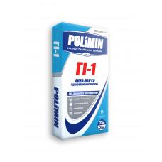 Polimin ГI-1 Аква-барьер Гидроизолирующая штукатурка 25кг