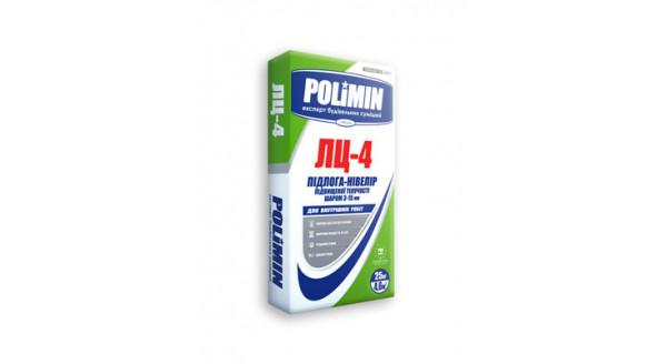 Polimin ЛЦ-4 Пол-нивелир повышенной текучести(слой 3-15мм) 25кг купить в Запорожье