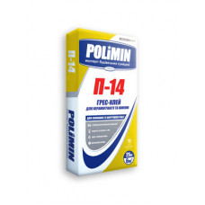Polimin П-14 Грес-клей для керамогранита и камня 25кг
