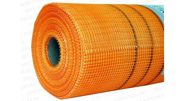 Сетка фасадная стеклотканевая 160г\м2 (Оранжевая) в Запорожье