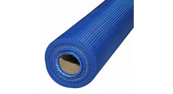 Сетка фасадная стеклотканевая 145г\м2 (Синяя) в Запорожье
