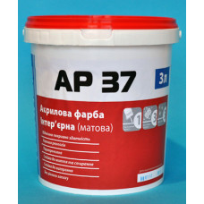 Акриловая интерьерная краска АР 37 10л(14кг)