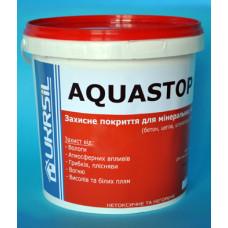 Гидрофобное жидкое калиевое стекло UKRSIL AQUA STOP 3л - жидкое стекло-Строитель-ком